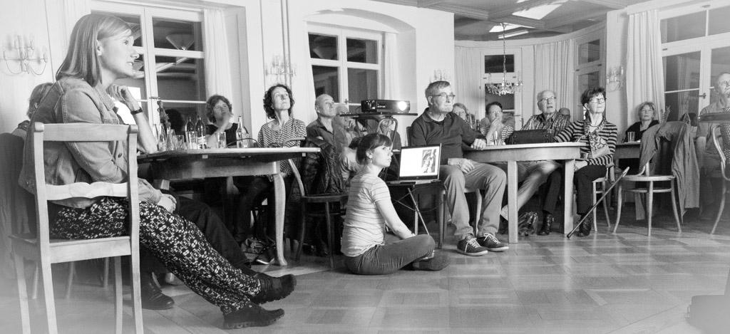 HV Schloss Dottenwil - gebannt zuhörendes Publikum