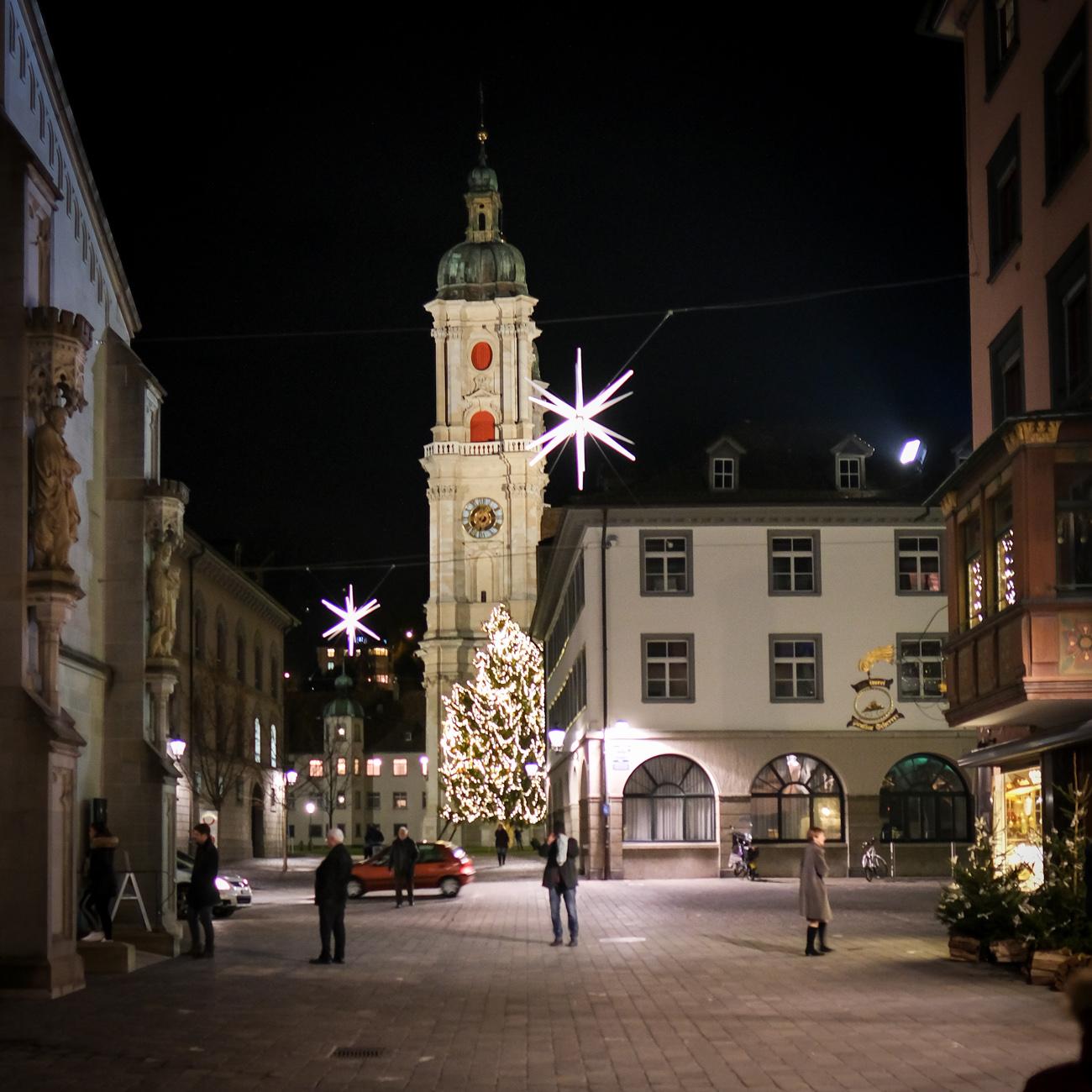 Kathedrale St.Gallen Dez 2018