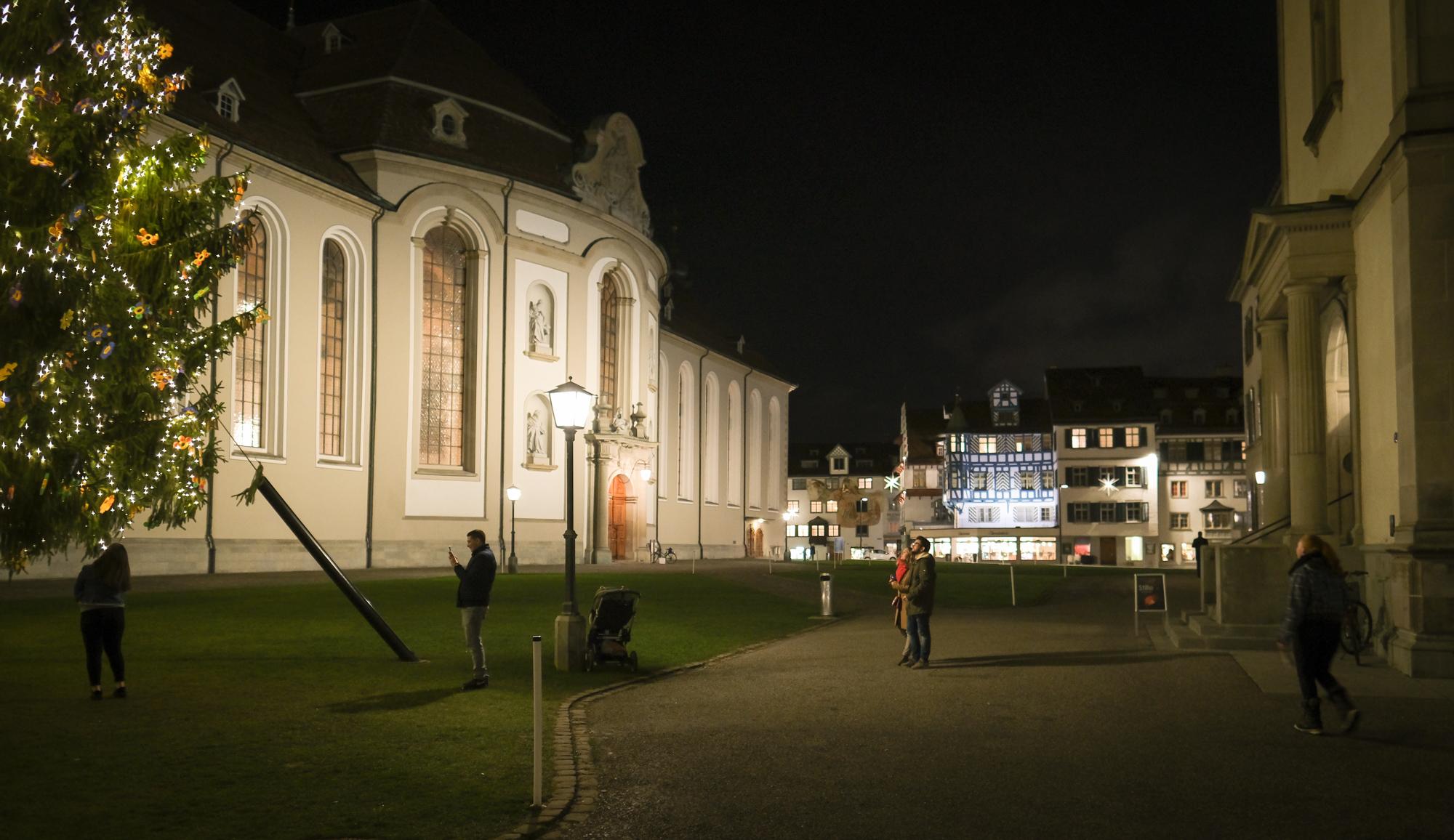 Klosterplatz St.Gallen, Weltkulturgut der Unesco